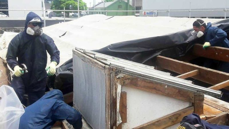Working With Asbestos Safety 1st Removals Akl